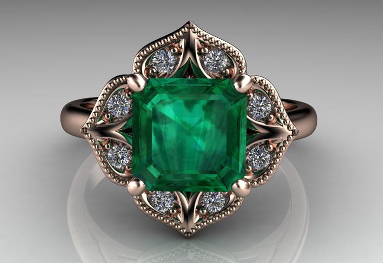 julia's coloured gemstone