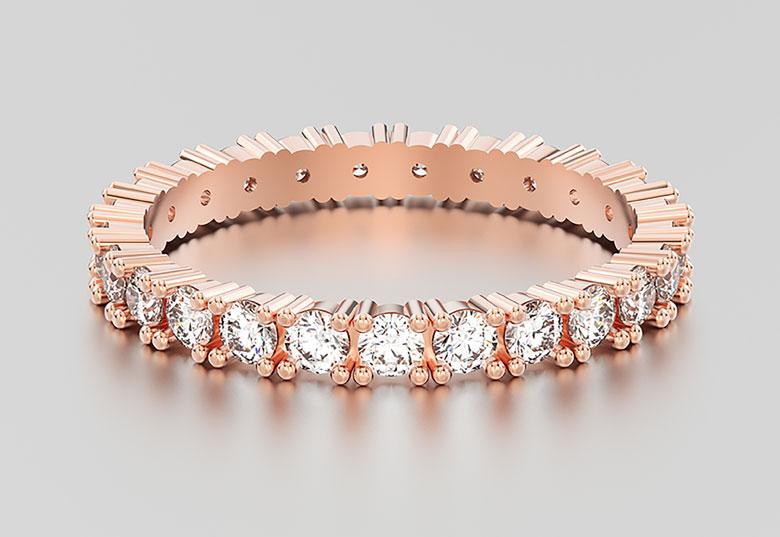 set on a ring design
