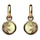 Enraptured Collection Lemon Quartz 18K Gold Drop Earrings