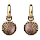 Enraptured Collection Smoky Quartz 18K Gold Drop Earrings
