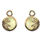 Enraptured Collection Onyx 18K Gold Earring Enhancers
