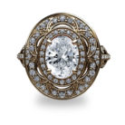 2.56ct tw.Oval Diamond 18K Gold Ring