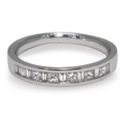 0.40ct Diamond Half Eternity Style Platinum 950 Band