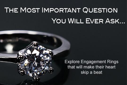 Engagement rings from Julia Pharo Jewellery